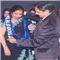 Commissioner Mr. Rajiv Sharma, Giving Best Teacher Award